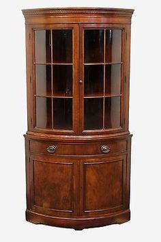 esszimmer china hutch built in corner cabinet with glass shelves furniture