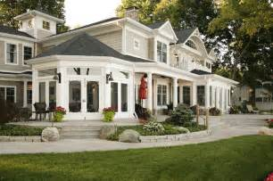 American Home Design Inc Lakefront Elevation Traditional Patio Chicago By