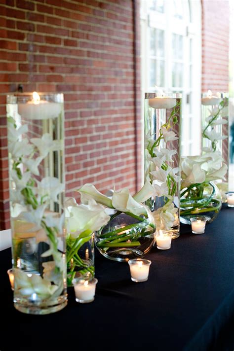 white orchid centerpieces how to make a diy submersible centerpiece afloral wedding