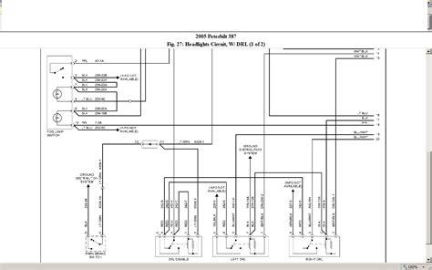 2005 peterbilt headlight wiring best site wiring harness i a 2005 387 peterbilt with no high beam and no lights i tried a new turn signal