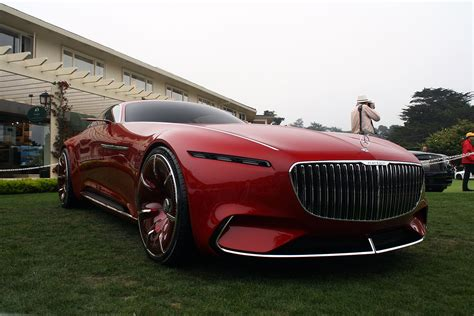 maybach mercedes coupe vision mercedes maybach 6 concept unveiled at pebble beach
