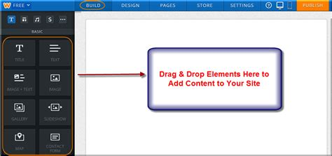 weebly design elements help how to create a free weebly site 187 webnots