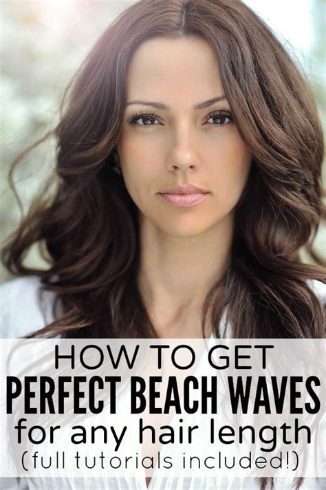 how to get beach waves for short hair how to get perfect beach waves medium length hairs
