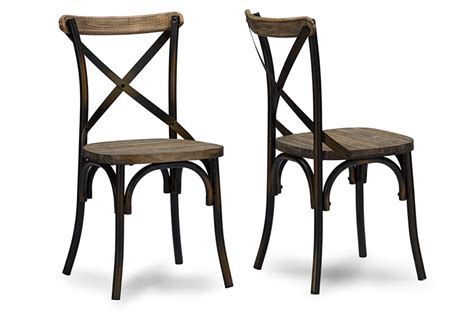 Metal Industrial Dining Chairs Industrial Metal Dining Chairs Home Design Ideas
