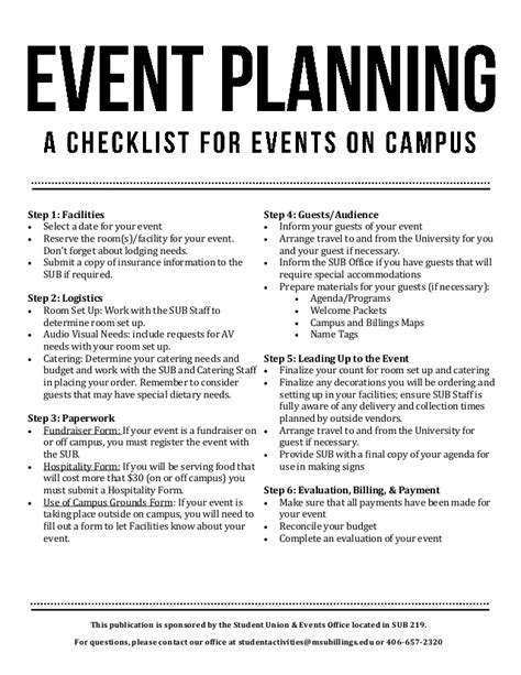 Wedding Logistics Checklist by Event Planning Checklist