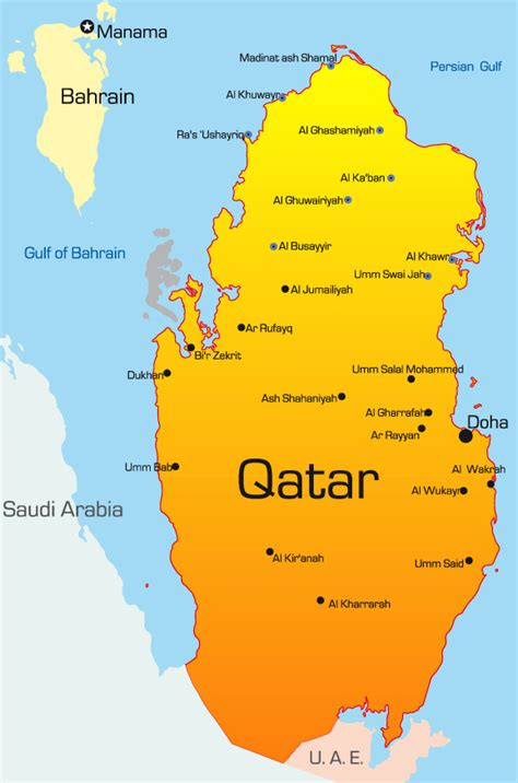 qatar in world map teaching in the middle east dynamic personnel