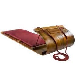 heirloom wooden toboggan