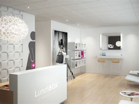 Home W Waxing Salon | lunchbox a waxing salon makes chic salon concept