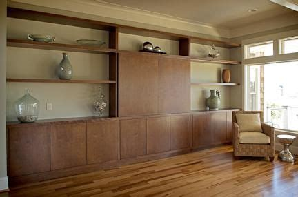 hand crafted living room wall unit  brandon parrow