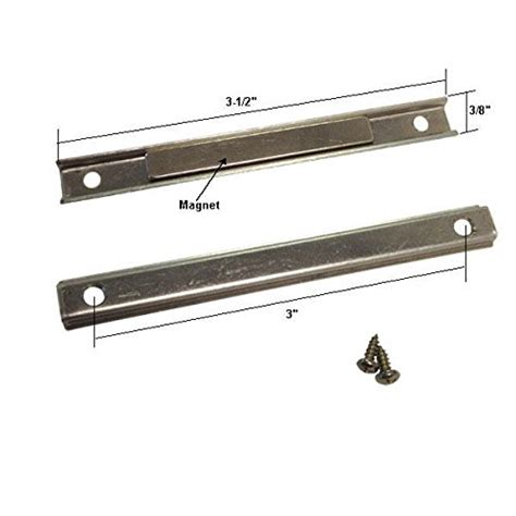 Shower Door Magnet Replacement by Shower Door Replacement Strike Plate With Magnet And