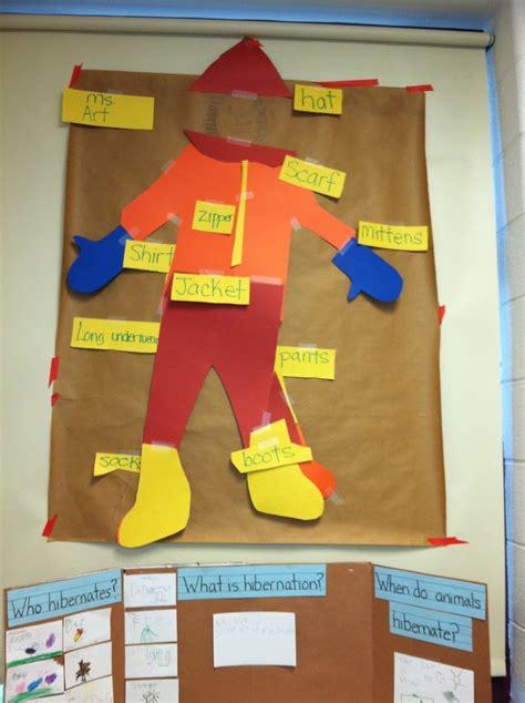 clothes theme for preschool craft winter clothing activity school pinterest activities