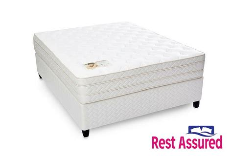 rest assured bed rest assured weightmaster double mattress extra length