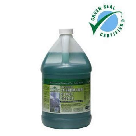 bathroom sealant cleaner green seal certified bathroom bowl cleaner descaler