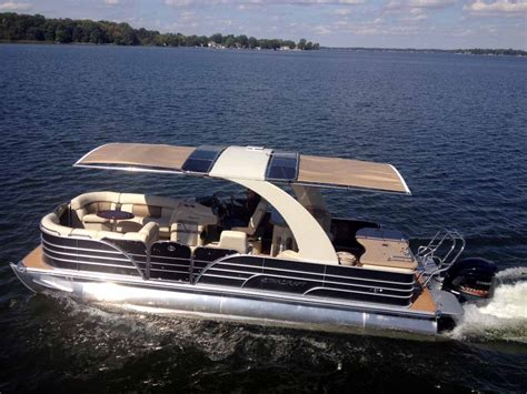 pontoon boats sleeping quarters pontoon boats sureshade