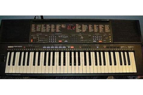 Foto Dan Keyboard Yamaha Yamaha Keyboard Psr 600 Mit Viel Zubeh 246 R In Germersheim