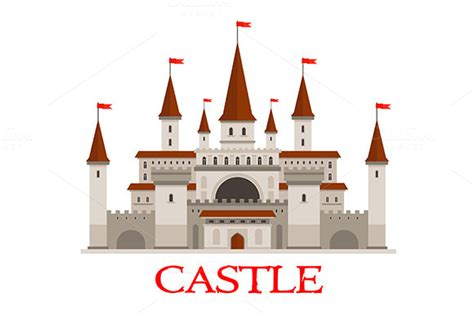 printable medieval castle template 187 designtube creative