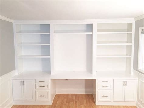 built in desk with shelves 17 best ideas about built in desk on office