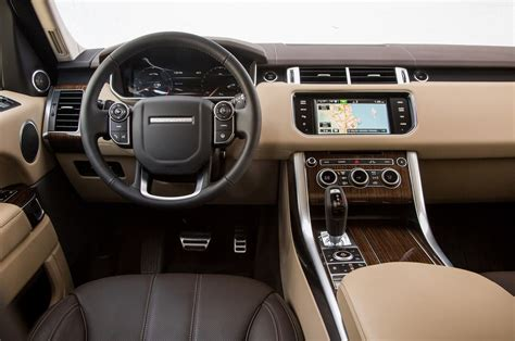 land rover interior 2015 land rover range rover sport supercharged review