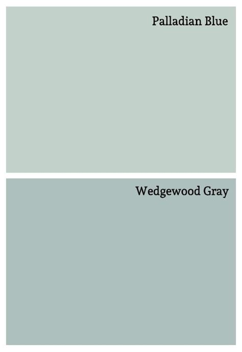 soft blue paint colors palladian blue wedgewood gray by benjamin paint chips