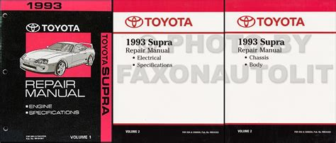 1993 toyota supra problems online manuals and repair information 1993 toyota supra automatic transmission repair shop manual original