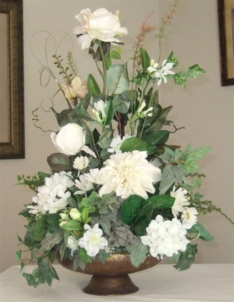 how to make a floral arrangement ana silk flowers pictures silk flowers white