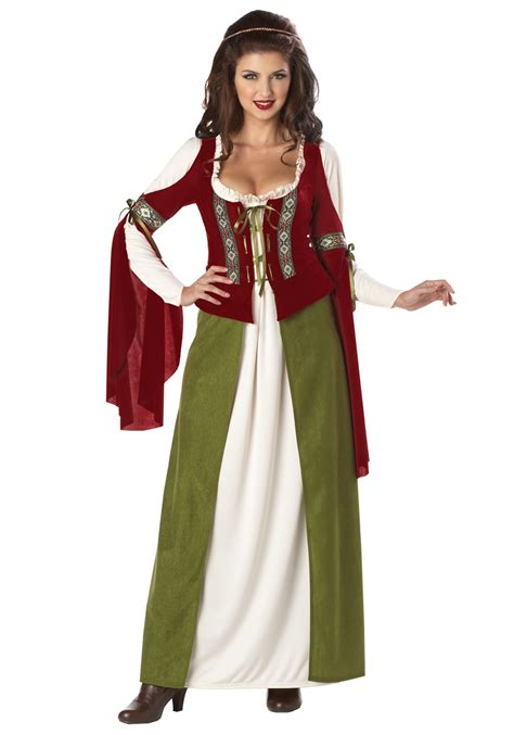 halloween costumes maid marian costume