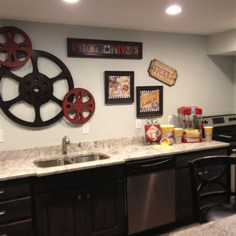 Theatre Room Decor Theater Room Snack Bar Home Theater