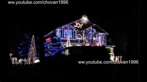 skrillex his house at christmas incredible light show