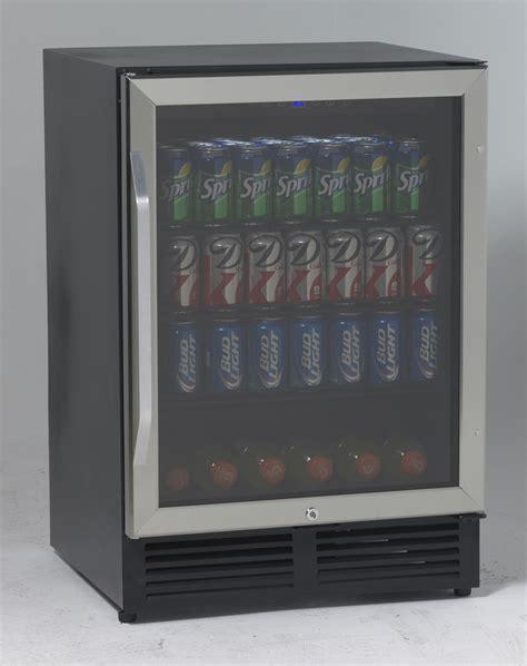 Glass Door Beverage Cooler by Buy Avanti Bca516ss 5 0 Cu Ft Glass Door Beverage Cooler