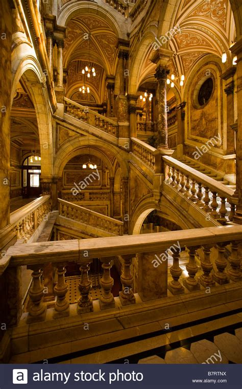 marble staircase marble staircase at glasgow city chambers stock photo