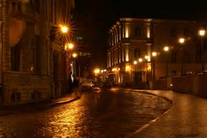 streets with lights photography narv view