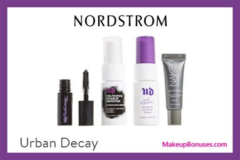 all urban decay nordstrom nordstrom free bonus gifts with purchase makeup bonuses