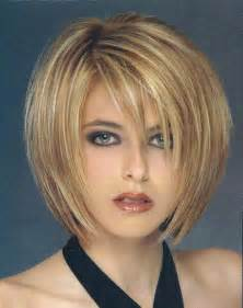 thin hair cuts short layered bob hairstyles for fine hair images