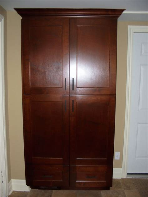 freestanding pantry cabinet 17 best images about custom built pantrys on