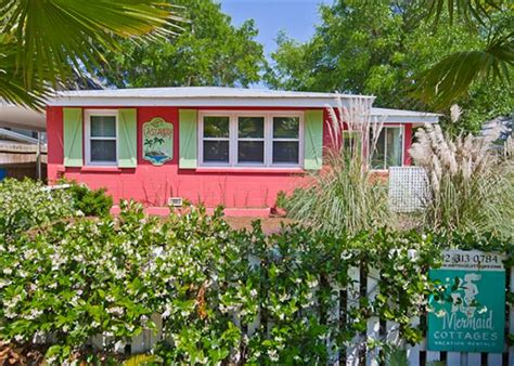 Tybee Island Cottages For Rent by Tybee Island Vacation Mermaid Cottages