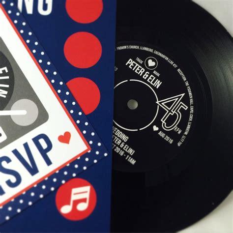 vinyl record wedding invitations uk wedding invitations real vintage vinyl record