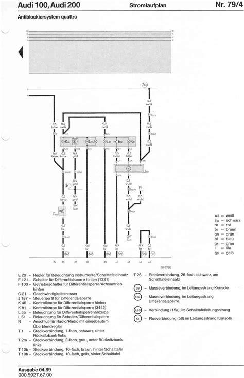 erwin diagram audi 200 quattro wiring diagrams wiring diagram schemes