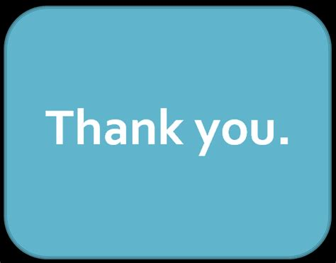 thank you slide for powerpoint presentation free