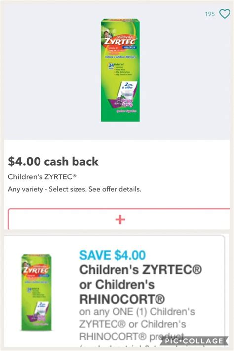 zyrtec d coupon printable 2013 runnn huge mm on zyrtec after coupon and rebate the