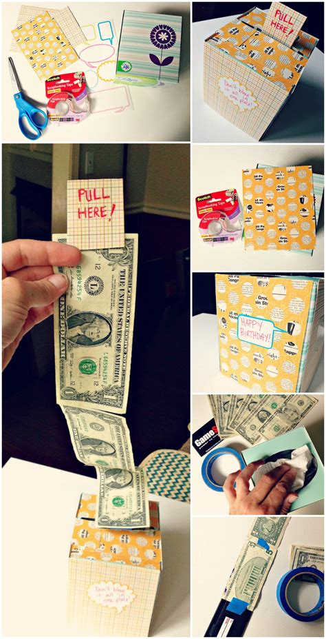 Can I Get Money Back From A Gift Card - diy creative way to give a cash gift using a kleenex box