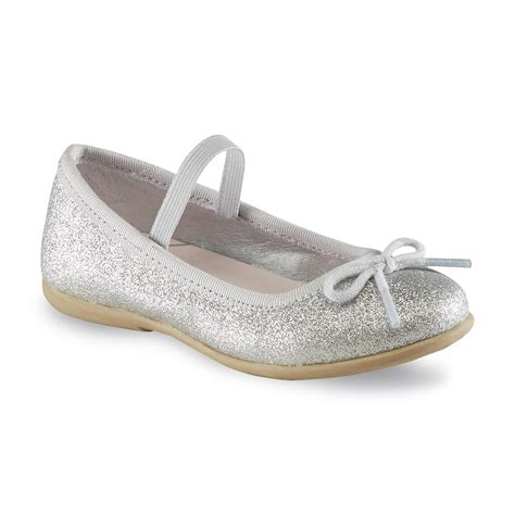 silver ballet flat shoes s toddler s ruby 2 silver ballet flat shoes