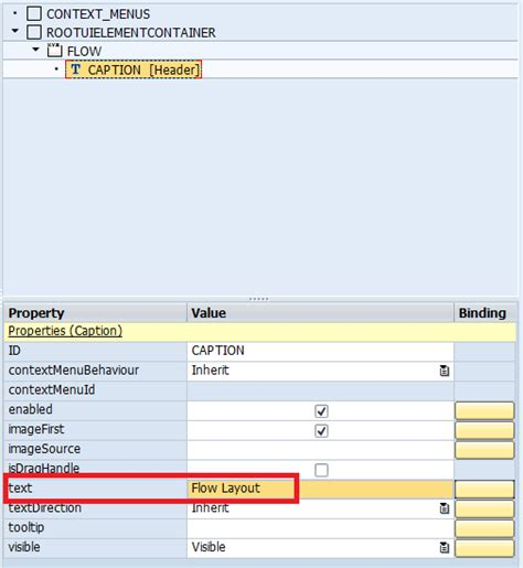 webdynpro grid layout usage and significance of various layouts in webdynpro