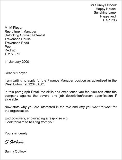 cover letter exles uk cover letter for cv exles uk cover letter resume