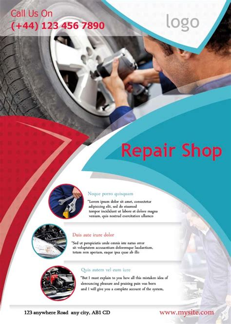 flyer design templates uk if you are looking for creative auto repair flyers