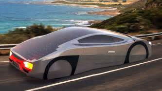 new solar car this solar sports car can run on solar energy without stopping