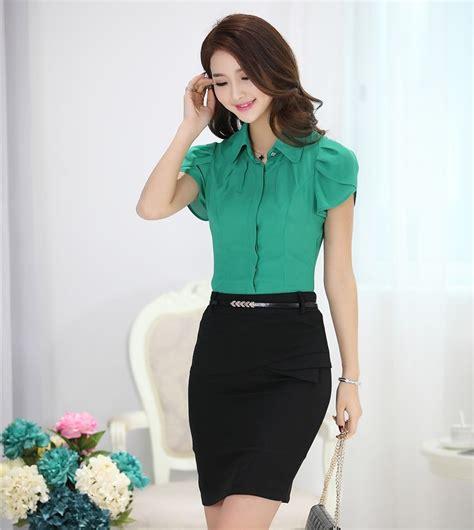 moda de oficina de mujer en pinterest faldas vestidos y blusas de moda formales blusas estilosas pinterest moda