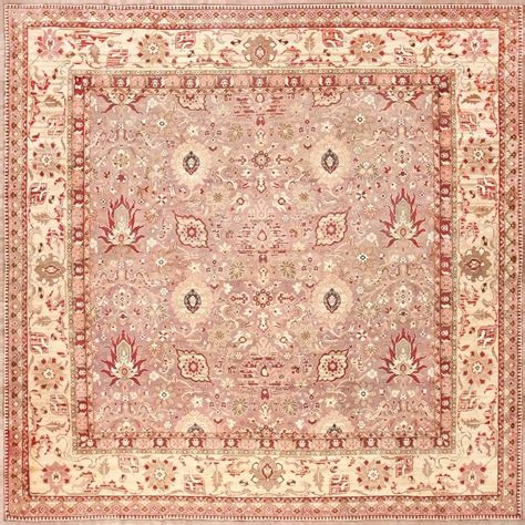 Large Square Rug by Large Square Antique Indian Agra Rug For Sale At 1stdibs