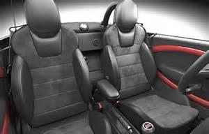 Mini Cooper Recaro Seats Mini Usa To Introduce Recaro Seats As An Option