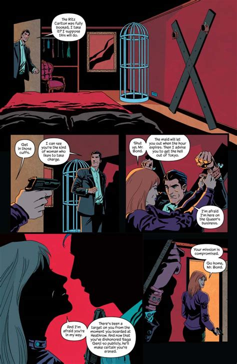 james bond black box james bond 3 preview first comics news