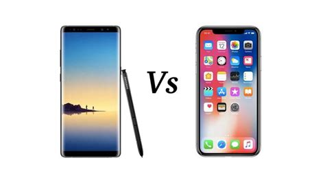 iphone x vs note 8 tech advisor